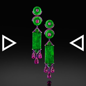 The Jade Tien Gow Earrings