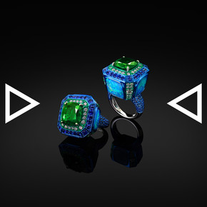 The Dice of Emerald World Ring