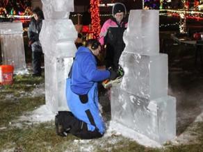 Second Annual Ice Carving Contest Dec. 14-15