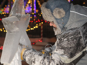 Ice Carving Contest to be held this Friday and Saturday at Kiwanis Holiday Lights