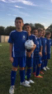 Soccer team Etobicoke
