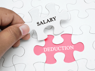 New Guidance on Salary Deductions