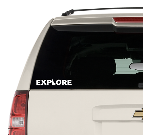 EXPLORE Idaho Decal