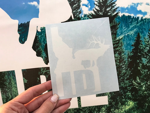 "GET OUTSIDE ""ID"" Decal"