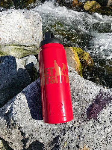 26-oz Male Hiker Water Bottle