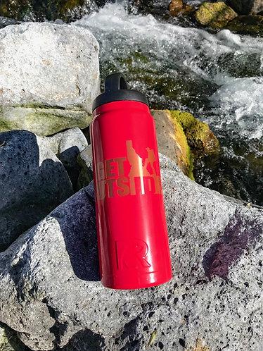 26-oz Male Hiker Water Bottle