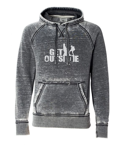 Ladies' Lightweight Dark Smoke Hoodie