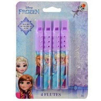 Frozen 4pk Mini Flute Asstd.