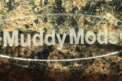 MuddyMods Acrylic KeyRing