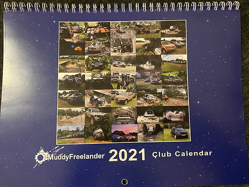Muddy Freelander 2021 Calendar
