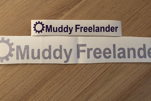 Purple Muddy Freelander Club Sticker
