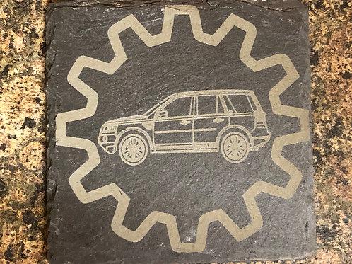 Freelander 2 Slate Coaster