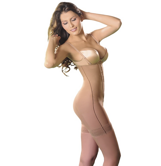 3026 - STRAPLESS BODY SHAPER WITH SILICONE