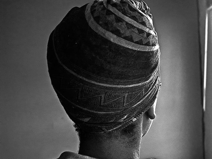 head scarf natural hair