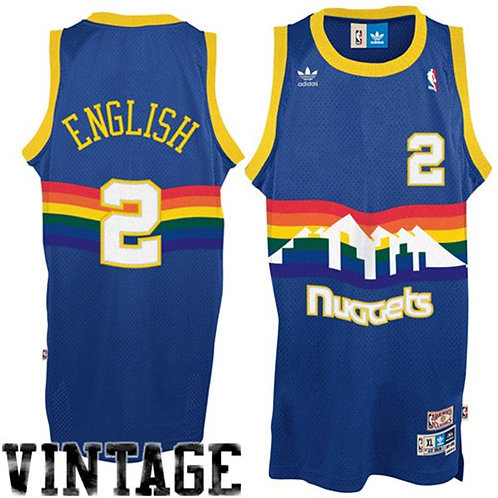 Alex English Denver Nuggets adidas Hardwood Classi