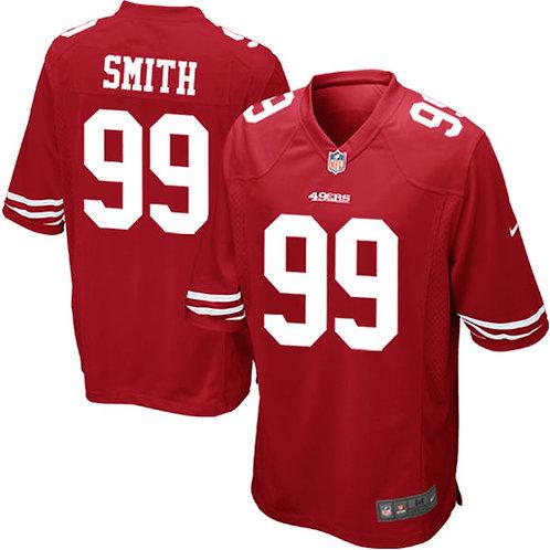 Camiseta Nfl Aldon Smith San Francisco 49ers Game Jersey