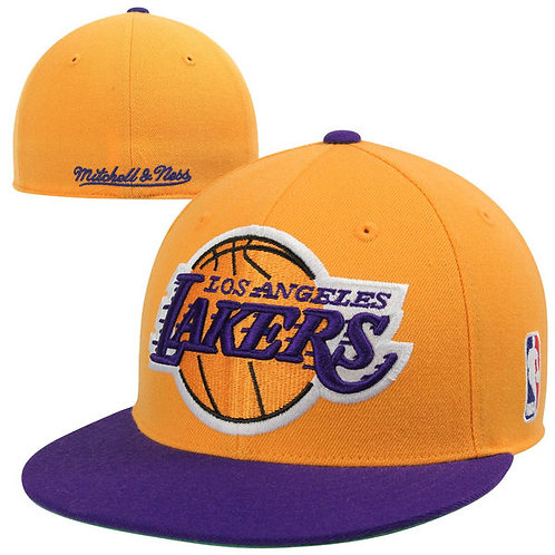 Gorra Nba Los Angeles Lakers Retro Harwood Classics