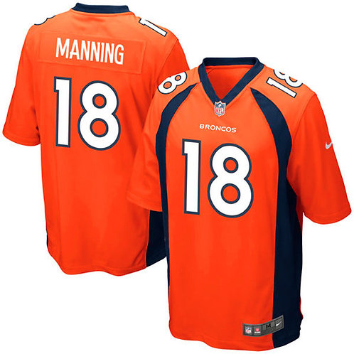 Peyton Manning Denver Broncos Nike
