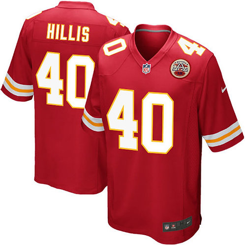 Kansas City Chiefs Peyton Hillis Nike Red