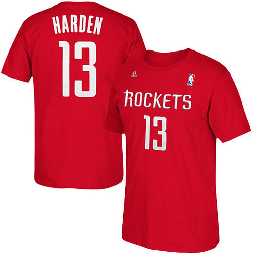 CAMISETA NBA JAMES HARDEEN MANGA CORTA