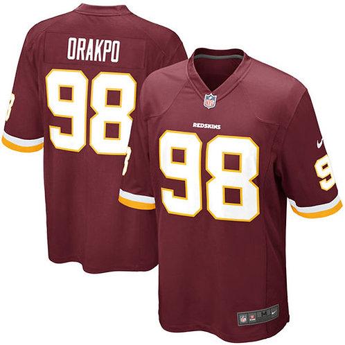 Washington Redskins Brian Orakpo Nike Burgundy Gam