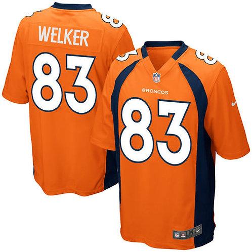 Camiseta Nfl Wes Welker Denver Broncos Nike Game Jersey -