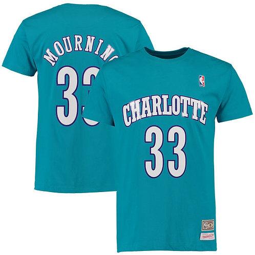 Alonzo Mourning Charlotte Hornets Mitchell & Ness
