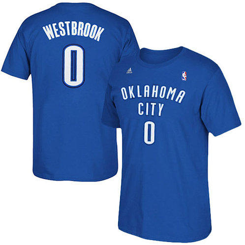 Russell Westbrook de Oklahoma City Thunder adidas