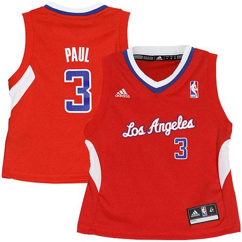 Chris Paul LA Clippers Adidas Réplica  niño Jersey - Rojo