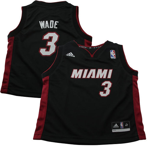 Dwyane Wade Miami Heat adidas camiseta niño