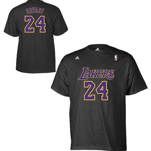 camiseta nba kobe briant negra purpura