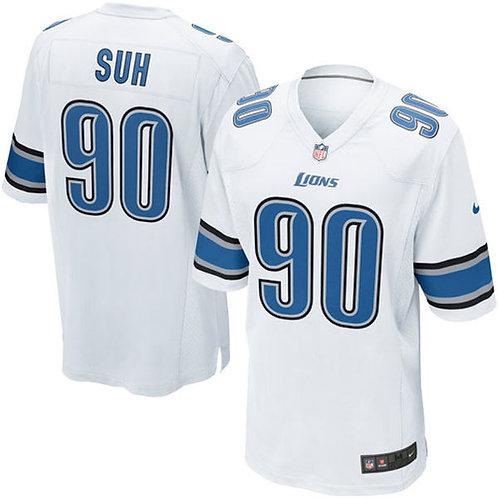 Ndamukong Suh Detroit Lions Nike Game Jersey