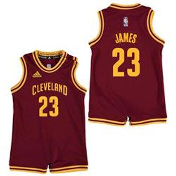 CONJUNTO NBA LEBRON JAMES CLEVELAND CAVALIERS