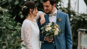Le mariage d'Éva et de Jacques-Henri au domaine du Blanc Maisnil