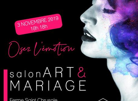 """Salon du mariage de Lille """"Art & Mariage 2019"""""""