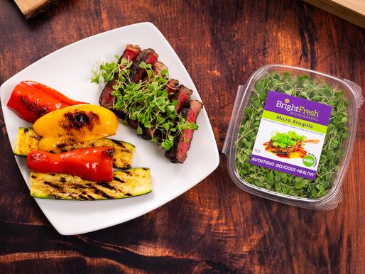 Australian Wagyu Steak with Micro Arugula