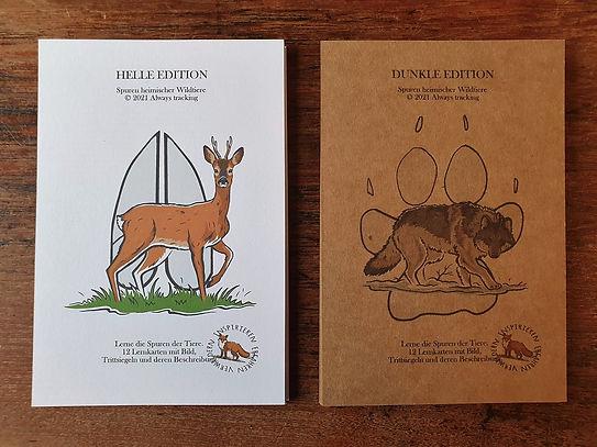 Tierspuren - Lernkarten heimischer Wildt