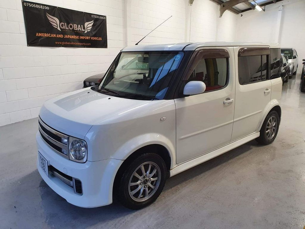 2007 NISSAN CUBE - £4,795  Cubic Autec Ryder, New Import  - Manual - 1.5 L - Hatchback - Petrol - 5 Doors - 7 Seats  Compact Mini MPV, imported from Japan  Stunning looking and driving example of a compact mini MPV  Ryder Autech Edition with an exclusive touchscreen UK GPS navigation system and bluetooth  Also Includes; reverse camera, Apple connectivity, limo-tinted windows, air conditioning, Nissan overmats, electric windows