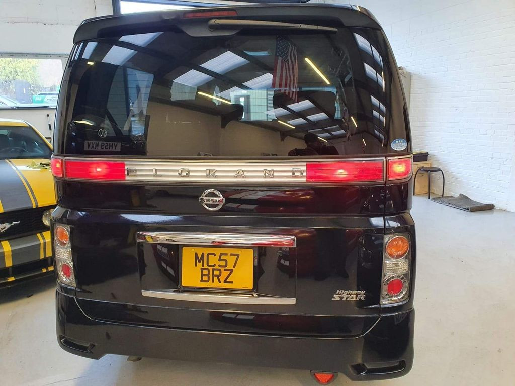2007 NISSAN ELGRAND - £7,495  3.5V6, New Import  - Automatic - 3.5 L - Limousine - Petrol - 5 Door - 8 Seats  Amazing looking vehicle and fantastic driving example  Highway Star Edition with full body kit and suspension  Exclusive remote sliding doors on driver & passenger side  Includes; drop down rear TV/DVD screen, reverse/blind spot camera, air conditioning, lightweight alloy wheels, rear catalytic suspension, half leather interior, swivel middle row seating, limo-tinted glass