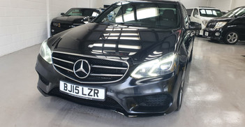 2015 MERCEDES BENZ E 220 CDI - £7,995  AMG Sports Night Edition  - Automatic - 5 Doors - 5 Seats - 181,000 miles  Full AMG spec with service history  3 Keepers  HPI clear