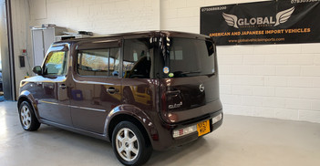 2007 NISSAN CUBE - £4, 895  - Automatic - 5 Doors - 7 Seats  Newly arrived from Japan!  Includes; reverse camera, UK GPS navigation, bluetooth, and Apple Connectivity