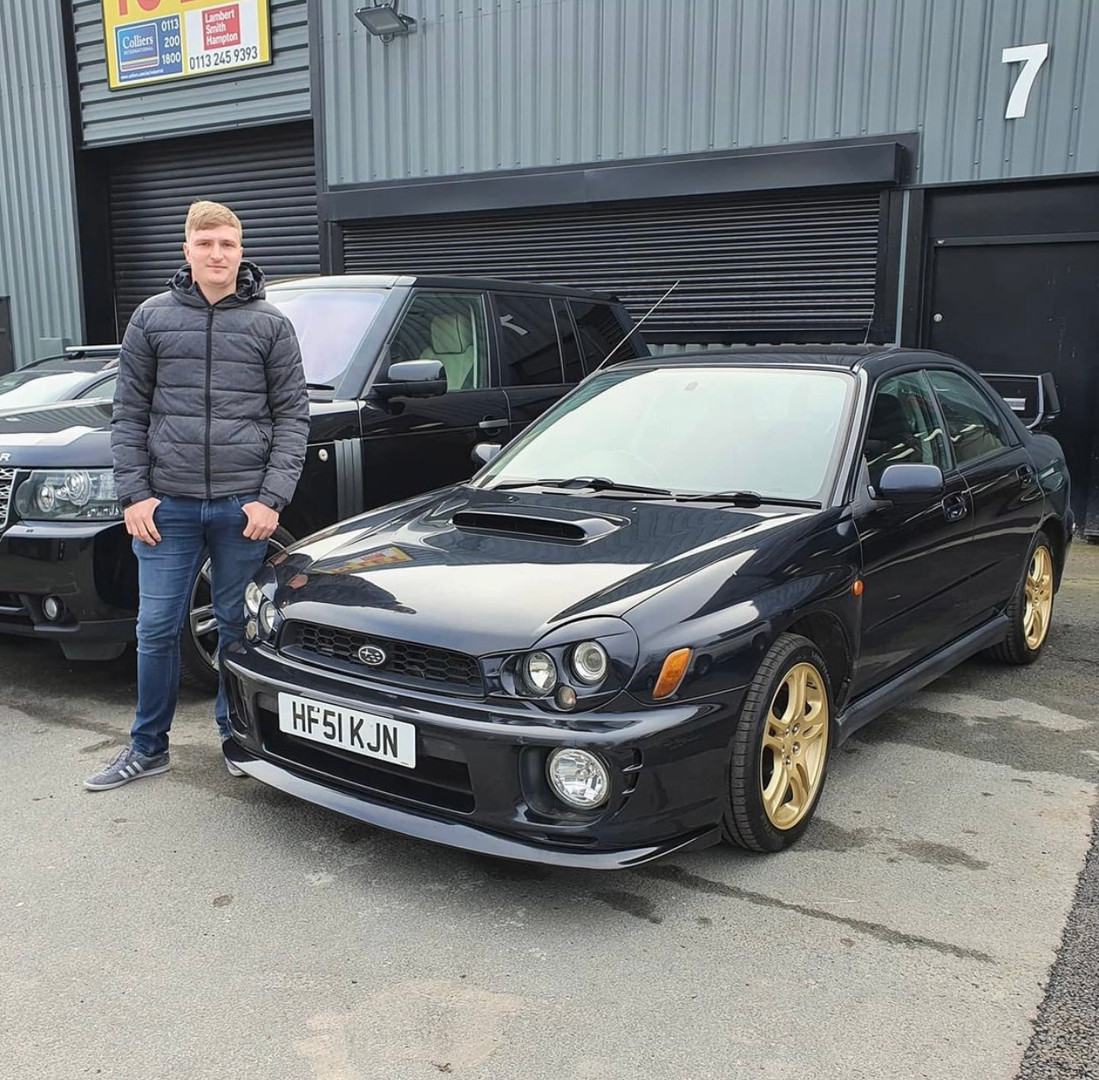 Mr Hayward, Subaru Impreza