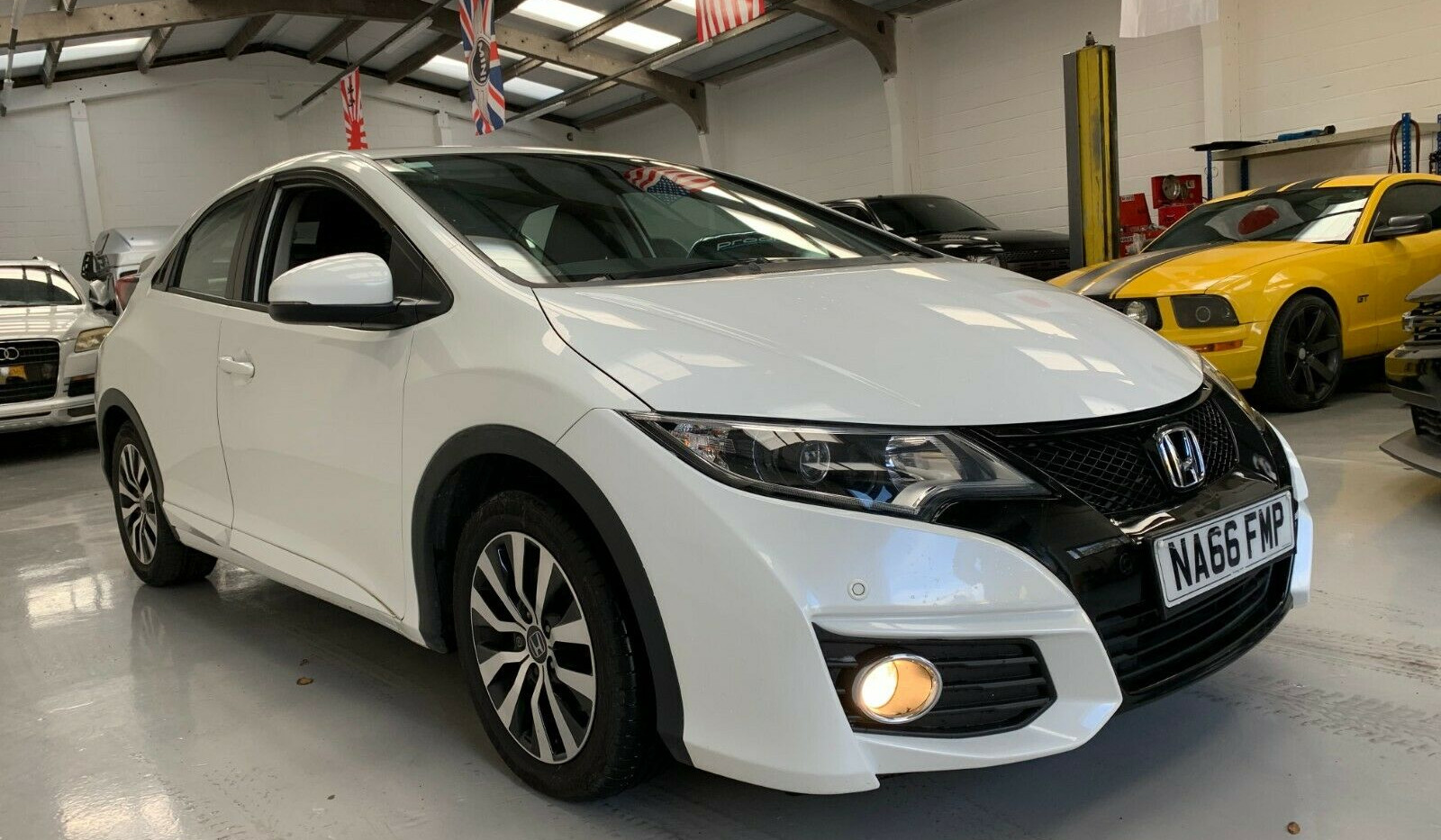 2017 HONDA CIVIC - £7, 495  1.6 I-DTEC SE Plus (Navi) (s/s)  - Manual - 1.6 L - Hatchback - Diesel - 5 Doors - 5 Seats  Stunning looking and driving example!  Warranted 49,000 miles w/ full Honda service history. Still registered on the free Honda Service Plan until 60,000 miles.  An ideal model for modern and reliable family motoring