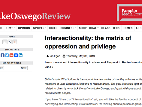 Latest RtR LO Review Column Explores Intersectionality