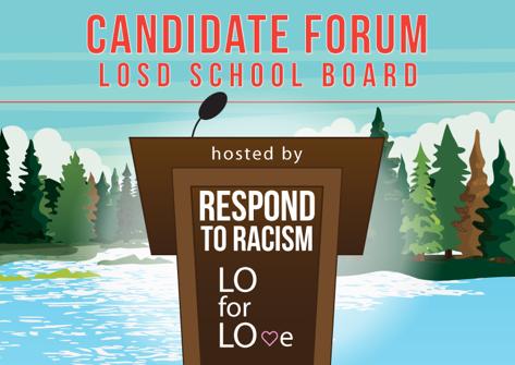 RTR and LO for LOve Will Host LOSD School Board Candidate Forum Apr. 29