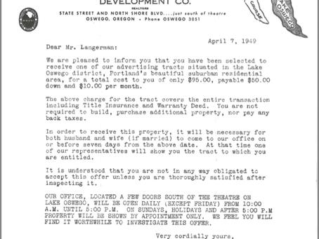 #Notanisolatedincident: Housing Covenant History Lesson