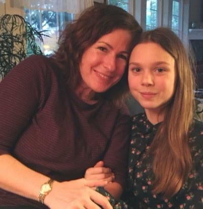 Deirdre Mackey and her daughter Grace Misztal
