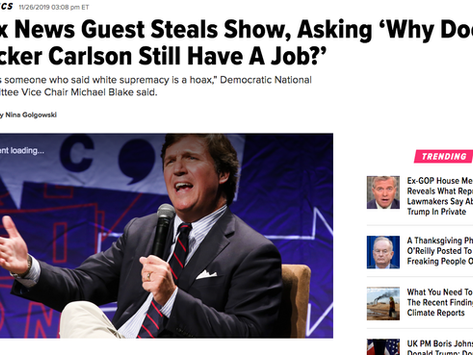 This Week's 5: Seriously Though, Why Does Tucker Carlson Still Have a Job?