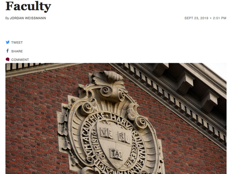 This Week's 5: Harvard's Affirmative Action for White People by the Numbers