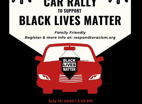 EVENT: Car Rally to Support Black Lives Matter, July 19